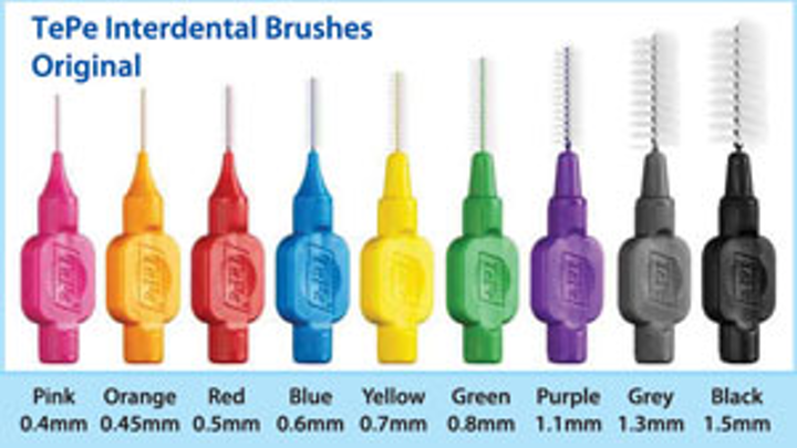1401rdhfieb Tepe Interdental Original 9 Sizes