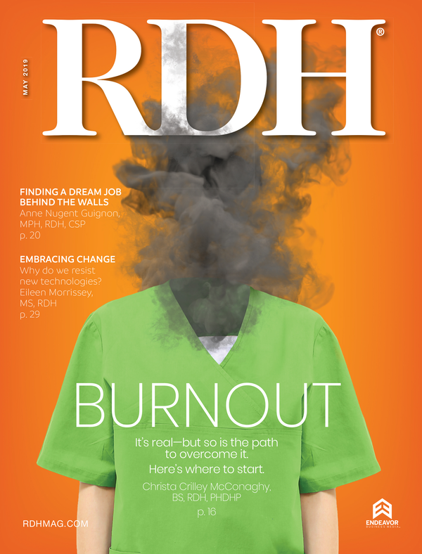 Registered Dental Hygenist (RDH) Magazine Volume 39, Issue 5