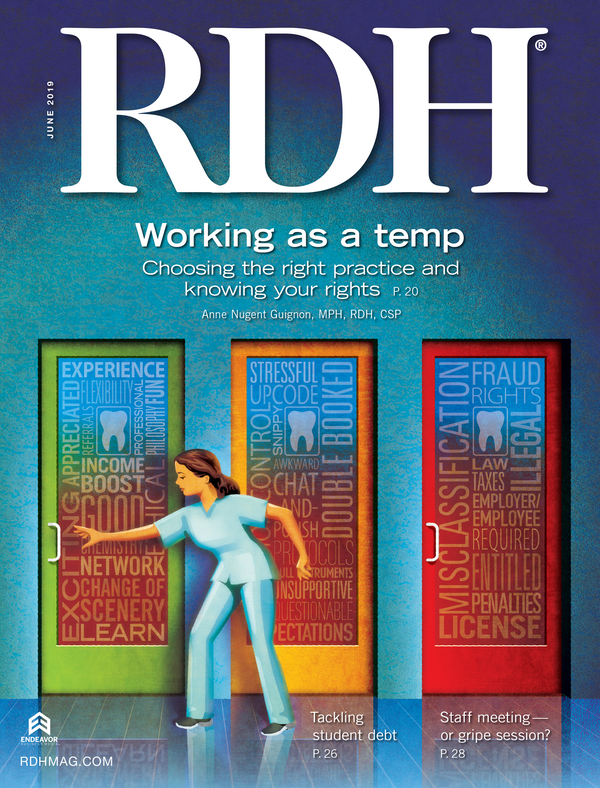 Registered Dental Hygenist (RDH) Magazine Volume 39, Issue 6
