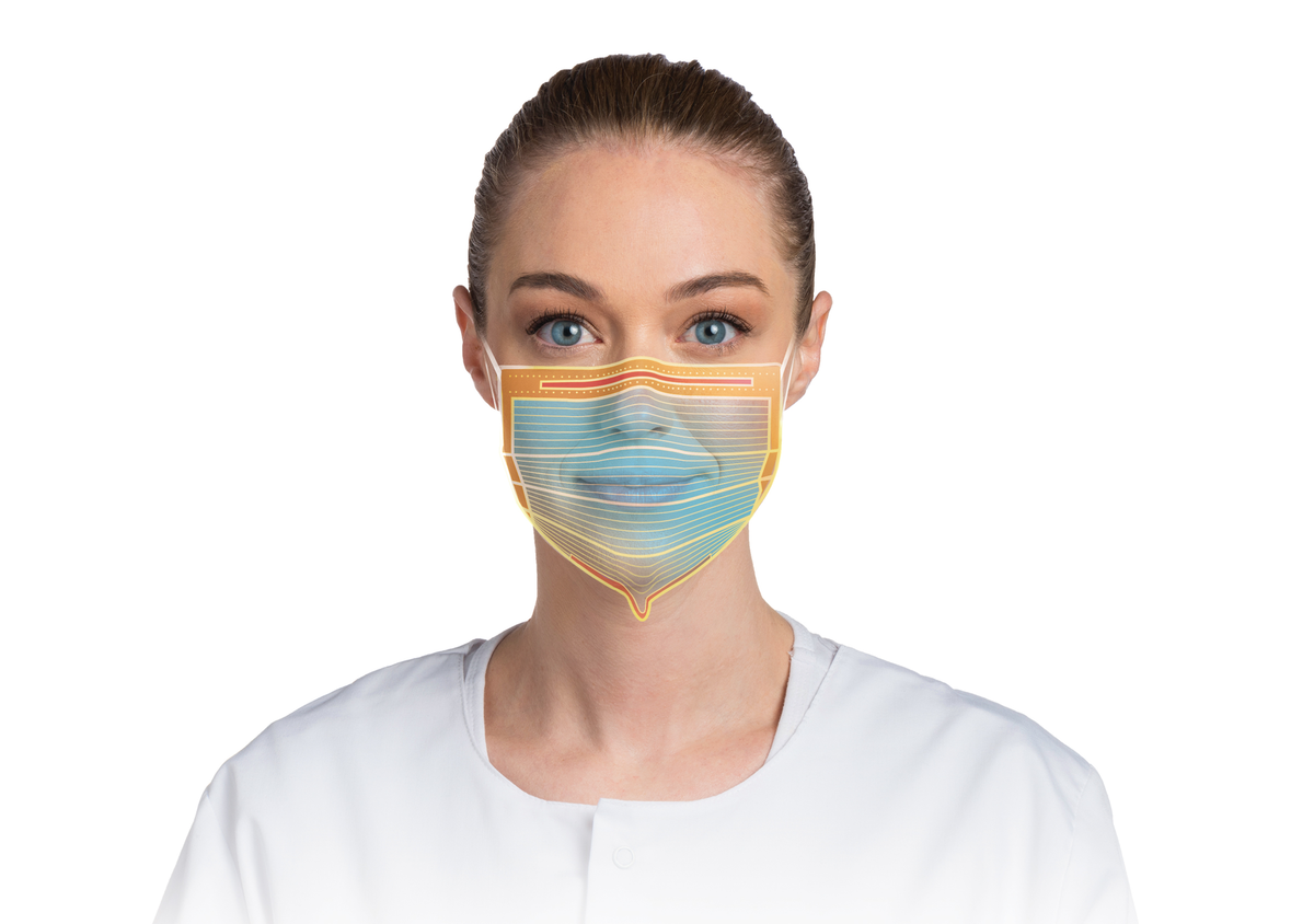 level 3 procedure surgical medical dental face mask